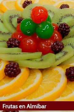 Fruta en Almíbar