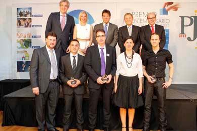 Premio Joven Empresario de Aragón 2012