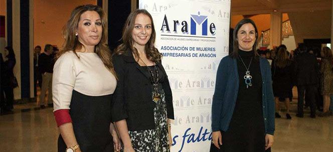 Premio Empresaria de Aragón 2011. Categoria Trayectoria Profesional