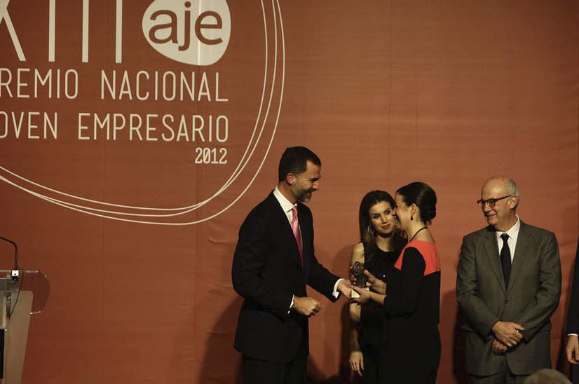 Premio Nacional Accesit Relevo Generacional 2012
