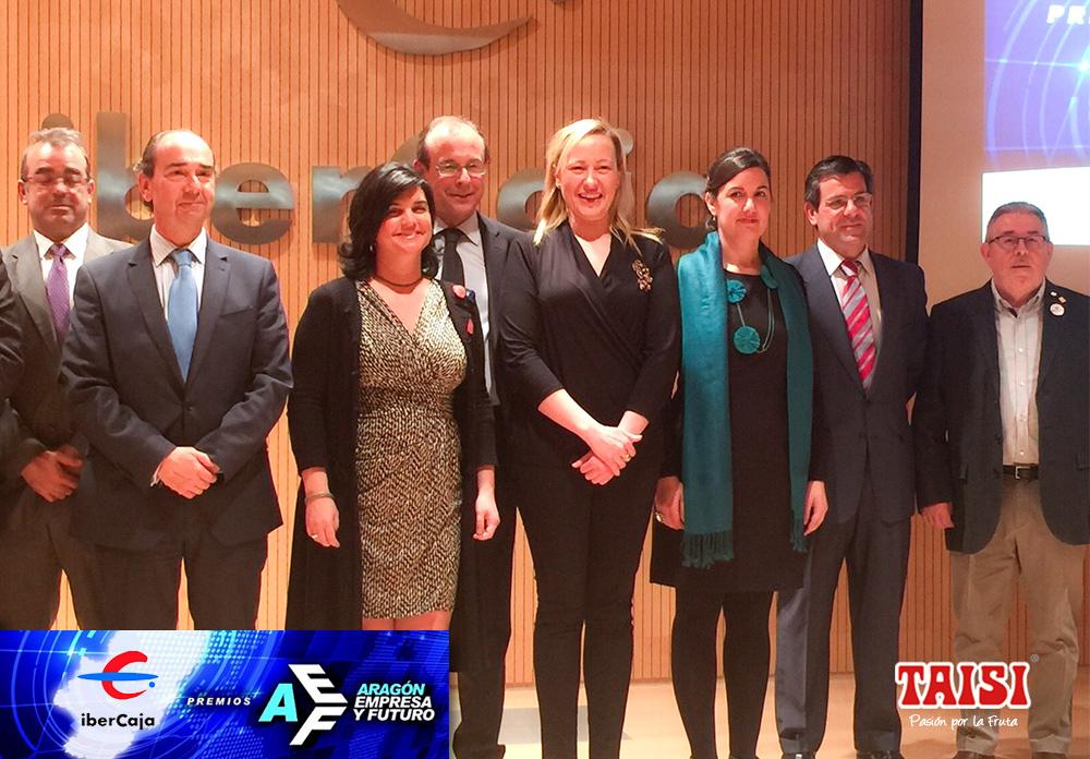 Finalistas de los Premios Aragón Empresa y Futuro