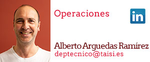 Taisi, Alberto Arguedas Ramírez, Operaciones
