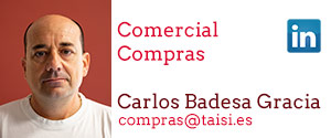 Taisi, Carlos Badesa Gracía, Comercial, Compras