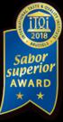 Sabor Superior Award 2018