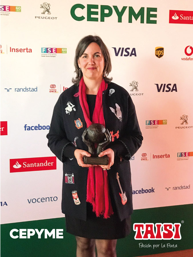 Taisi Premio Cepyme a la Igualdad 2017