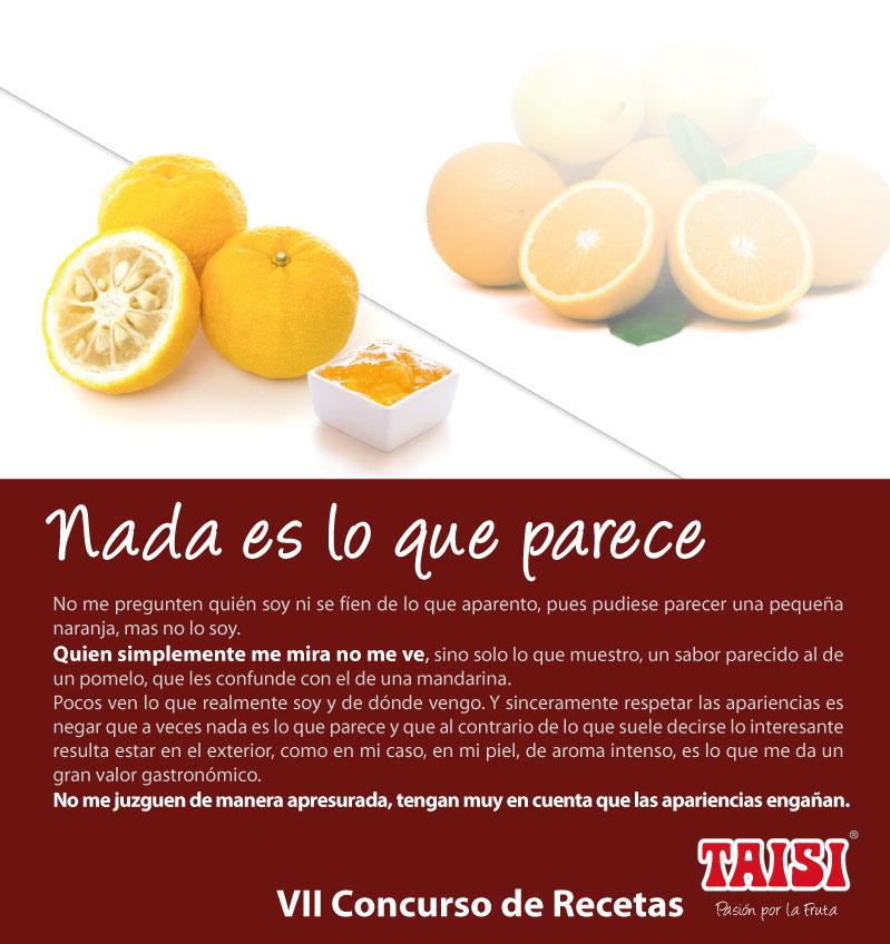 Bases del VII Concurso, Taisi Pasión por la Fruta