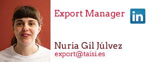 Taisi, Nuria Gil Júlvez, Export Manager