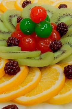 Taisi, Fruta en Almíbar