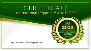Organic Passion Fruit Marmelade Gold Cert Organic Awards 2020